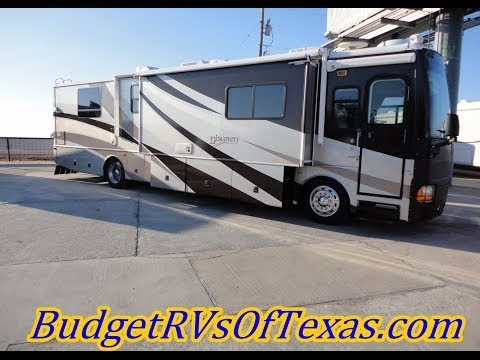 2003 Discovery 39J   40 FT Of Stunning Diesel Class A Glory! Home Is Where Your Coach Is Parked!
