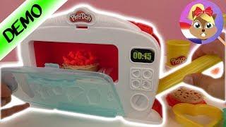 Play Doh MAGICAL Oven Kitchen Creations MAGISCHE OVEN Kleurrijke Klei Cakejes Zelf Maken | Spiel Mit
