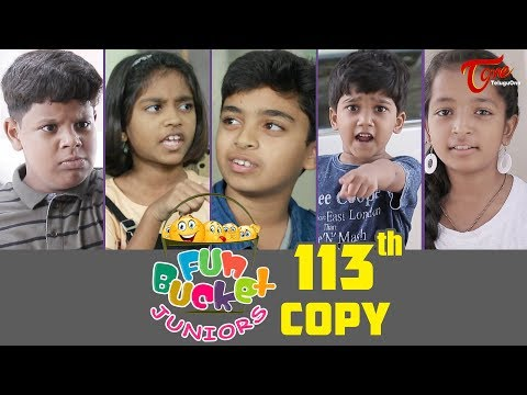 Fun Bucket JUNIORS | Episode 113 | Kids Funny Videos | Comedy Web Series | By Nagendra K | TeluguOne