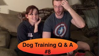 Dog Training Question and Answer #8 - Food Aggression, People Fearful and MORE