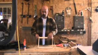 How to assemble a frame (For modifed Warre hives)