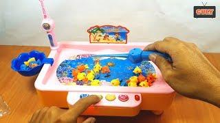 Mở Hộp - Đồ Chơi Câu Cá Kiểu Mới - Fishing Toy Mini