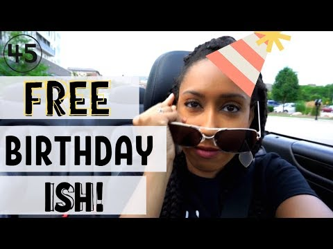 Where To Get Free Stuff On Your Birthday | 45 Places