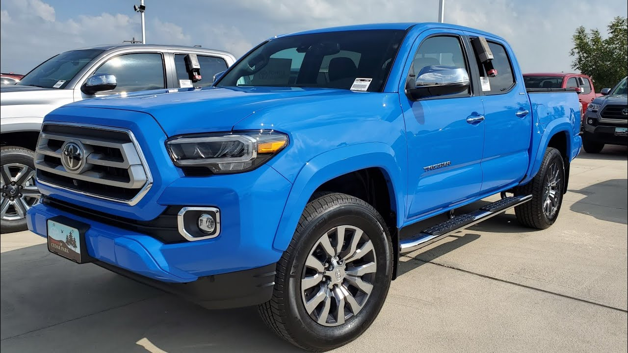 2020 toyota tacoma limited/ what's new? - youtube