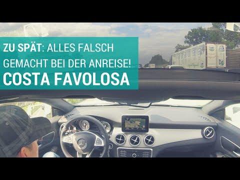 ZU SPÄT: Alles falsch gemacht bei der Anreise (Costa Favolosa Kreuzfahrt-Vlog 1)
