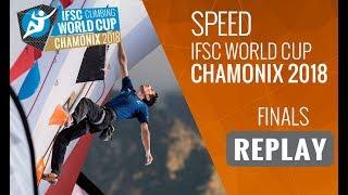 IFSC Climbing World Cup Chamonix 2018 - Speed - Finals - Men/Women
