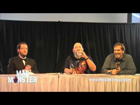 House of 1000 Corpses with Sid Haig & Bill Moseley at Mad Monster Party 2014