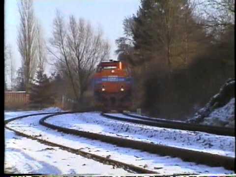 Züge in Kiel und zwischen Kiel - Eckernförde BR 218 und 628 sowie Mak der VKP