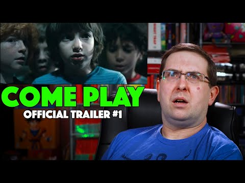 REACTION! Come Play Trailer #1 – Gillian Jacobs Movie 2020