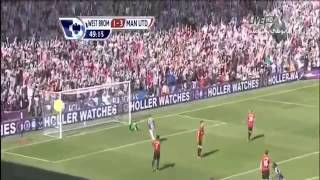 Manchester United 5-5 West Brom 2013 Full Goals & Highlights
