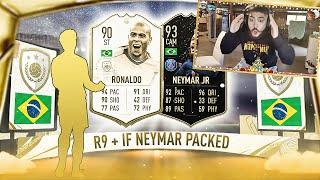 OMG I PACKED IF NEYMAR & R9 RONALDO!! ICON PACKS!! FIFA 20