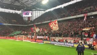 1. FC Köln - Hertha BSC Berlin 4:2! Geile Party in der Südkurve nach dem Spiel!