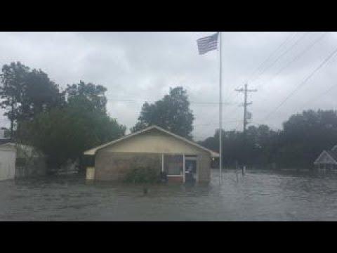 Flooding in Port Arthur, Texas paints morbid picture