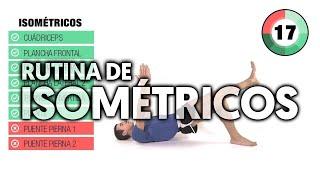 Rutina de Isométricos