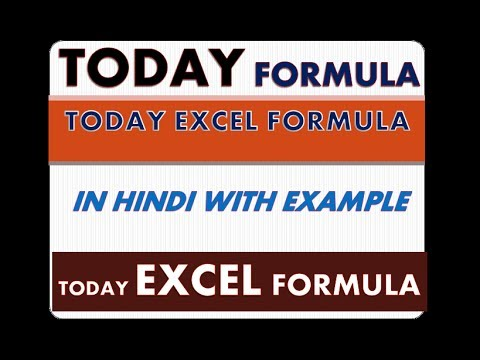 excel formulas with examples in hindi pdf