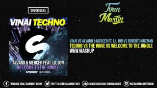 Techno vs The Wave vs Welcome To The Jungle (W&W Mashup) [Juan Martïn & Roberto Guzman Remake]