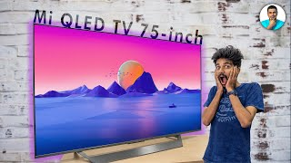 "Mi QLED TV 75"" Review - Size Does Matter!!"