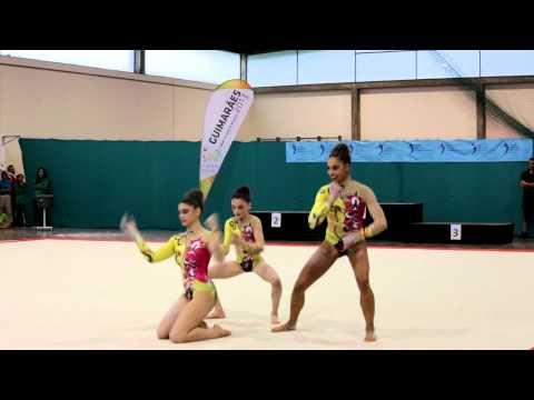 Acrobatic Gymnastics National Cup 2013 GCP WG Junior Combined