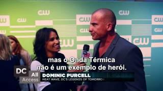 Legends of Tomorrow - Entrevista com o cast (Legendado - PT-BR)