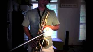 Air Supply - Here I Am (Just When I Thought I Was Over you) - sax cover