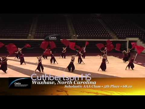 2012 CWEA Winter Guard Championship Highlights