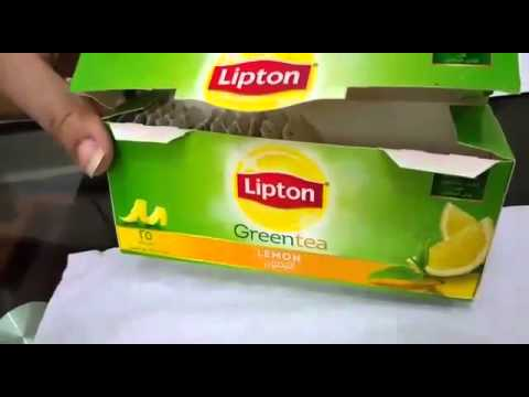 Lipton green tea not good for health danger