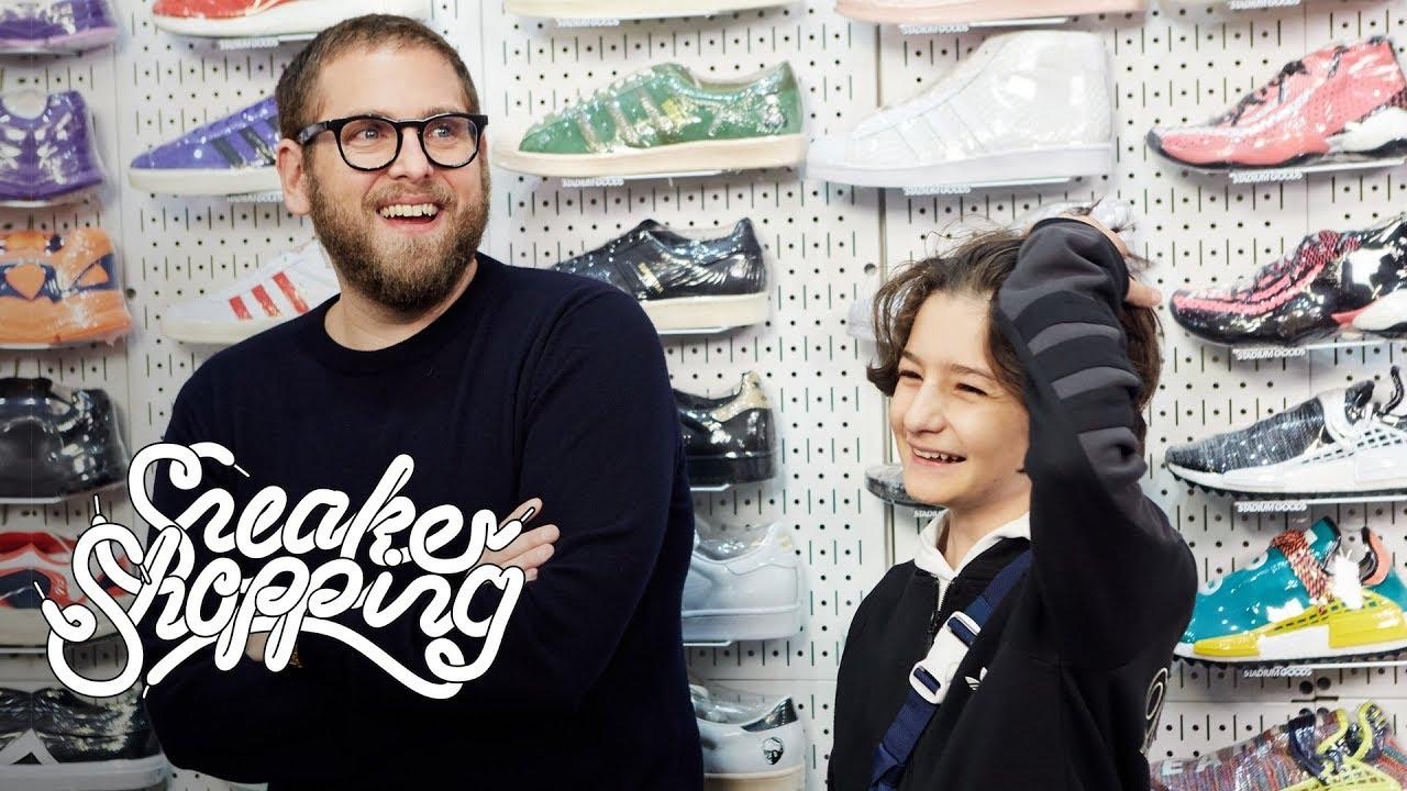 636e13dd10e0e Jonah Hill And Sunny Suljic Go Sneaker Shopping With Complex - YouTube