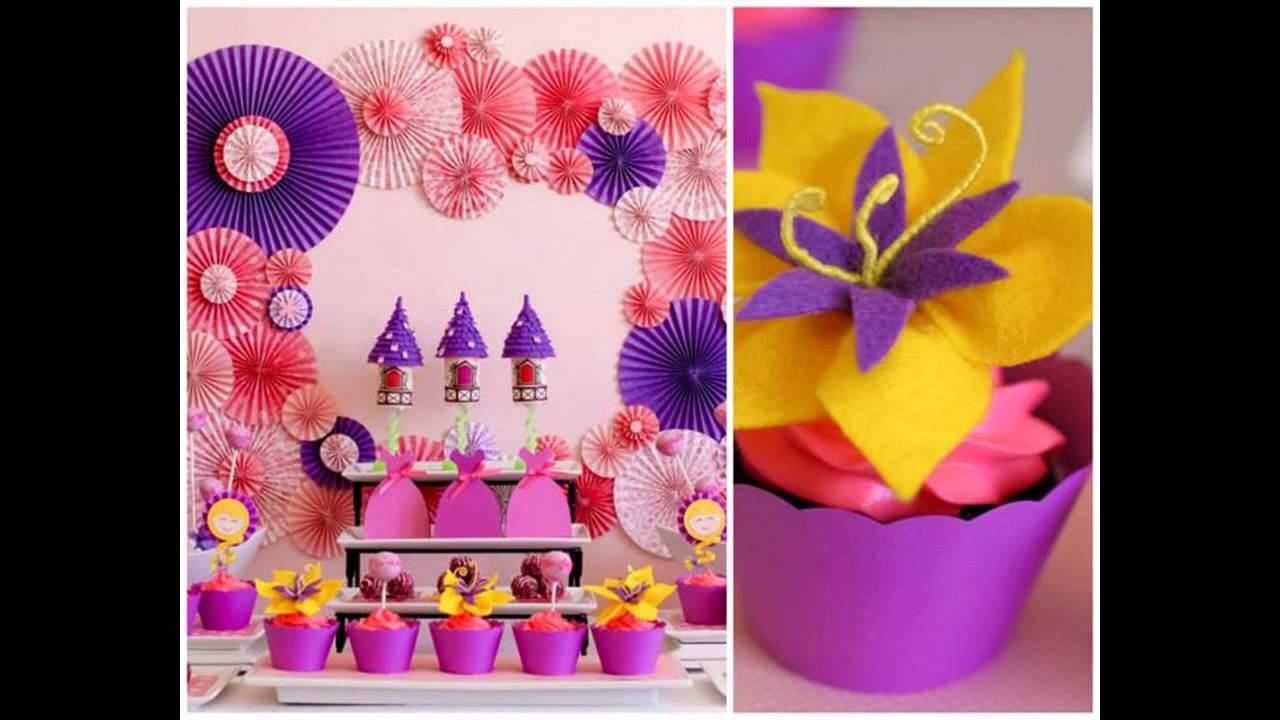 Cute Rapunzel Party Decorations Ideas