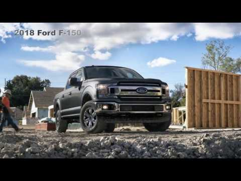 2018 Ford F-150 Pickup : TOUGHER SMARTER More CAPABLE Than Ever
