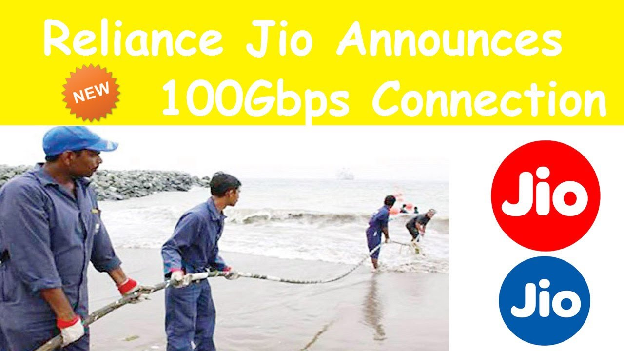 Reliance Jio Launches Asia Africa Europe Submarine Cable System 100Gbps