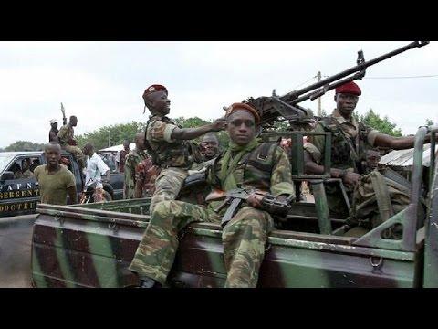 Gunfire heard at Ivory Coast military headquarters