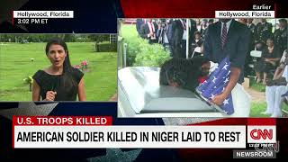 Loved ones say good-bye to Sgt. La David Johnson, US soldier slain in Niger