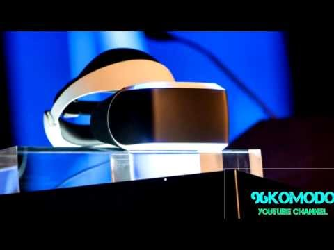 "Sony's VR Headset ""Project Morpheus"""