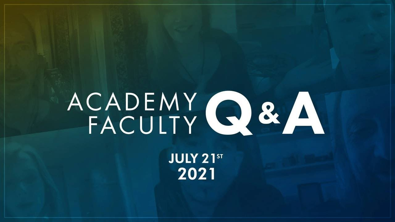Resonance Academy Faculty Q&A Session • July 2021