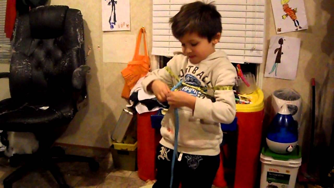 Houdini straight jacket trick - YouTube