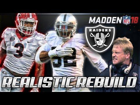 Rebuilding The Oakland Raiders | Gruden Era + Khalil Mack NFL MVP!? | Madden 18 Connected Franchise