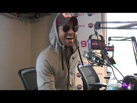 Enrique Iglesias Interview May 2018   Move To Miami
