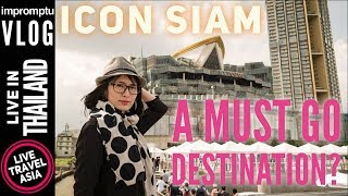 Icon Siam 4K Bangkok's Luxury Mall, Ferry, Sooksiam Food, Takashimaya, Complete Walkthrough & Review