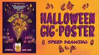 Opposite Box Halloween 2019 Poster - process video