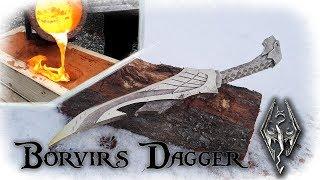 Casting a Aluminum Bronze Dagger From The Game Skyrim (Borvir´s Dagger)