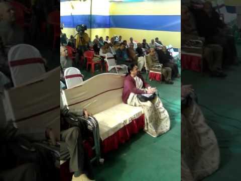 Ekal Kavita of Uday Chandra Jha Vinod - Maithili Literature Festival Patna