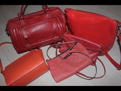 Ролик Мои сумки Яркие, Летние Croma, Mango, Rezerved и другие.