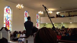 Initial Sermon of Minister Morrell Stokes of Long Branch Baptist Church - Greenville, SC