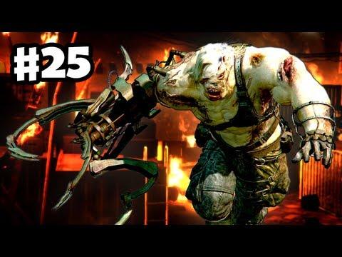 Resident Evil 6 - Ustanak Boss Fight! |