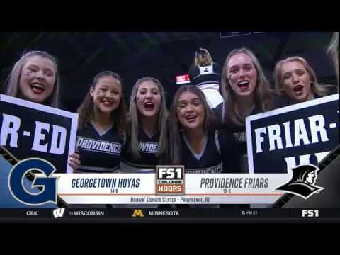 Georgetown at Providence Highlights: #BIGEASThoops