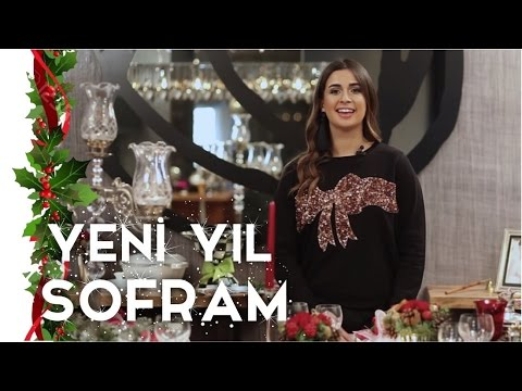 My New Year Table Decoration Ideas | Buse Terim