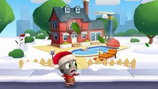 Talking Tom Gold Run #2 NEW UPDATE - NEW Character SANTA TOM Android Gameplay