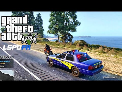 GTA 5 LSPDFR 0.3.1 - EPiSODE 87 - LET'S BE COPS - STATE TROO