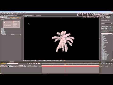 Cách sử dụng Trapcode Particle trên After Effects để làm kỹ xảo