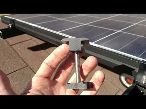 DIY Solar Panel Install Project 255W Canadian Solar Enphase Micro Inverters